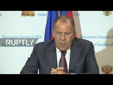LIVE: Lavrov holds Q&A session after meeting Tillerson and Trump in DC