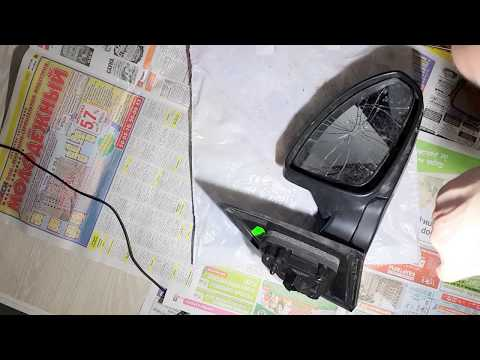 Chevrolet Cruze замена разбитого бокового зеркала