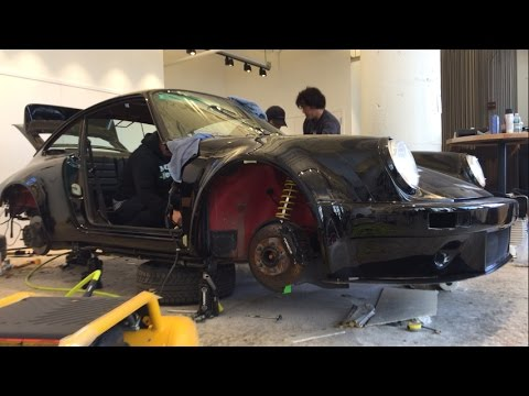 Nakai-San Creates a Rauh-Welt Porsche 911 LIVE at TheDrive.com Studio -- Part 4