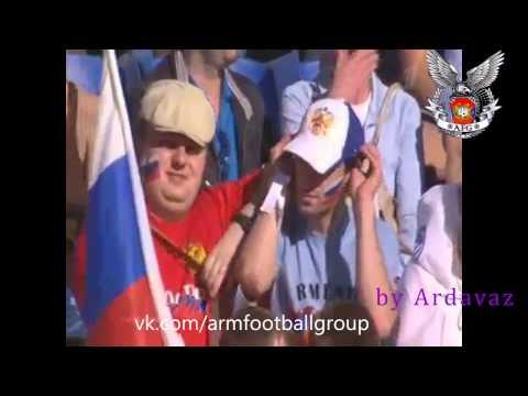 Россия-Армения отбор к евро 2012 (как это было)