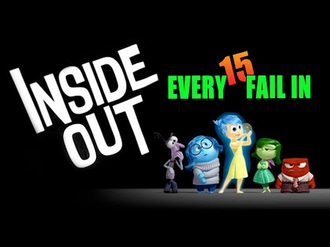 Every Fail In Inside Out | Everything Wrong With Inside Out, Mistakes and Goofs