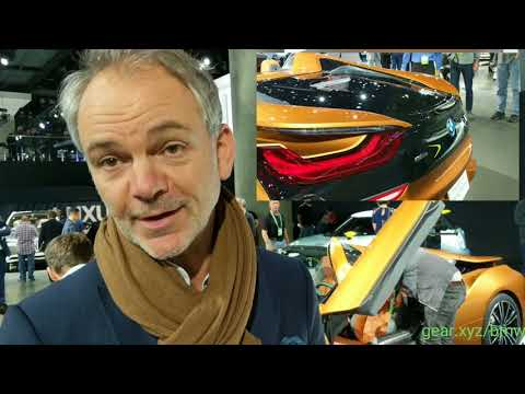 New 2019 BMW i8 Roadster: chat with chief designer