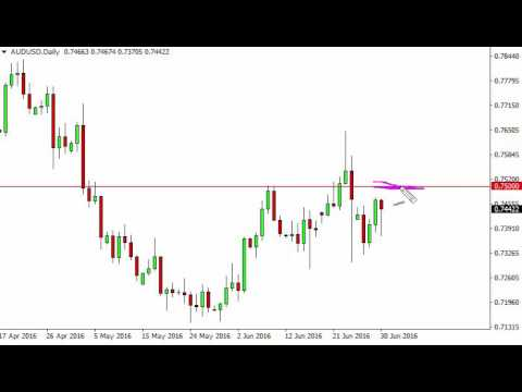 AUD/USD Technical Analysis for July 1 2016 by FXEmpire.com
