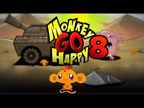 """Игра """"Счастливая Обезьянка 8"""" (Monkey GO Happy 8) - прохождение"""