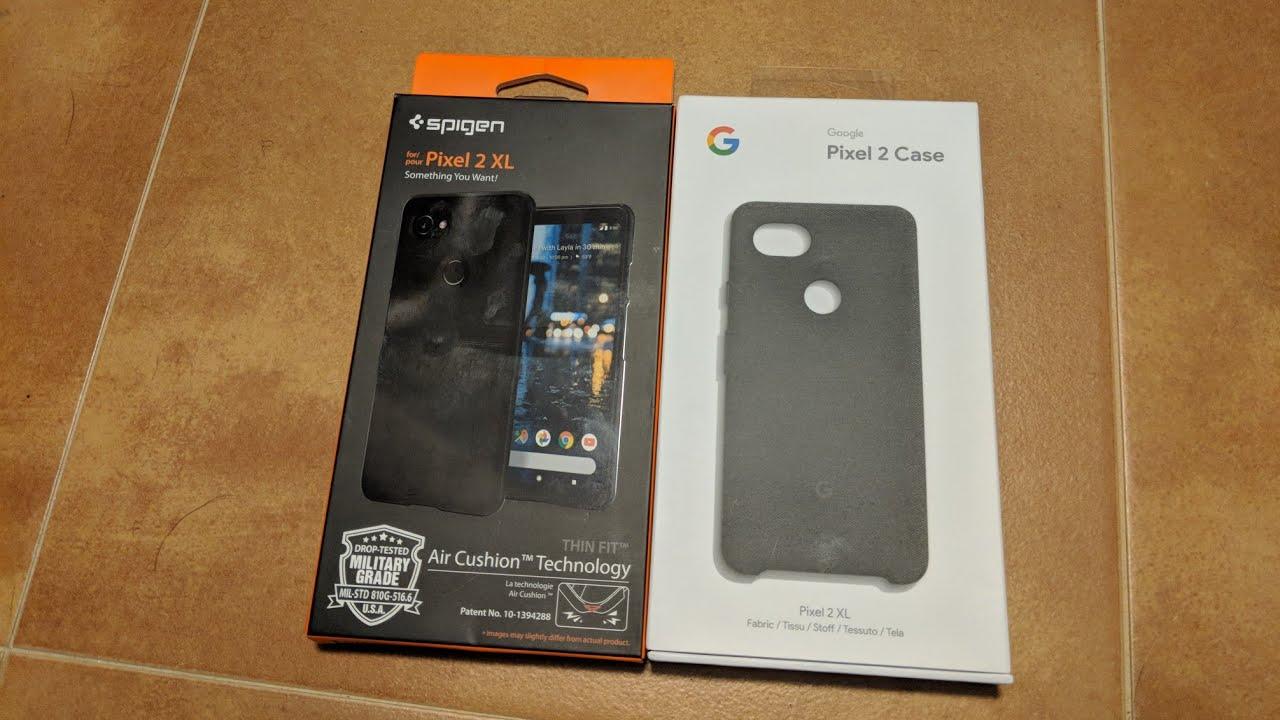 the latest 1f1d0 dbee6 Spigen Pixel 2 XL Thin Fit Case Review!