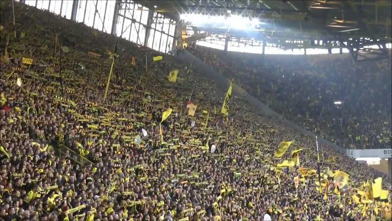 Meister 2012 Borussia Dortmund - Gladbach 2-0 Meisterstimmung BVB