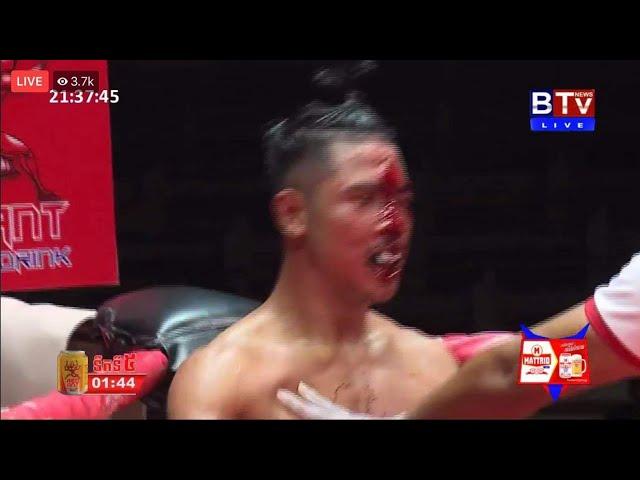 វ៉ាន់ថង បាញ់ឈាមពេញមុខ, ឈុត សេរីវ៉ាន់ថង vs. ឃីម បូរ៉ា, Bayon boxing 20/09/2020