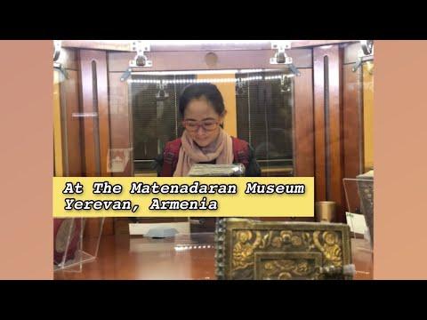 Visit The World's Largest Repository Of Armenian Manuscripts   Matenadaran Museum   Yerevan, Armenia