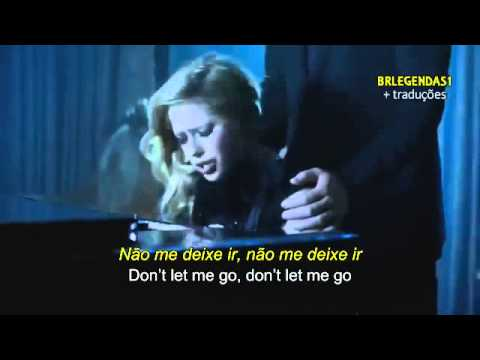 Avril Lavigne Let Me Go ft  Chad Kroeger (Official Video) Legendado (With Lyrics On Screen) HD