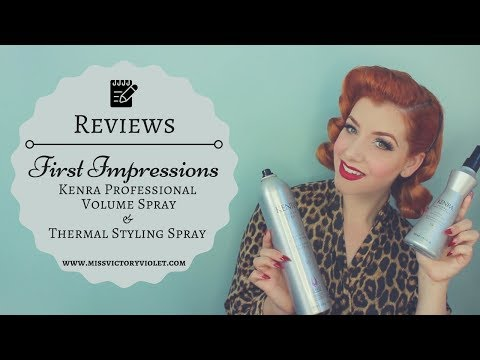 Kenra Profressional First Impressions for Vintage Hair