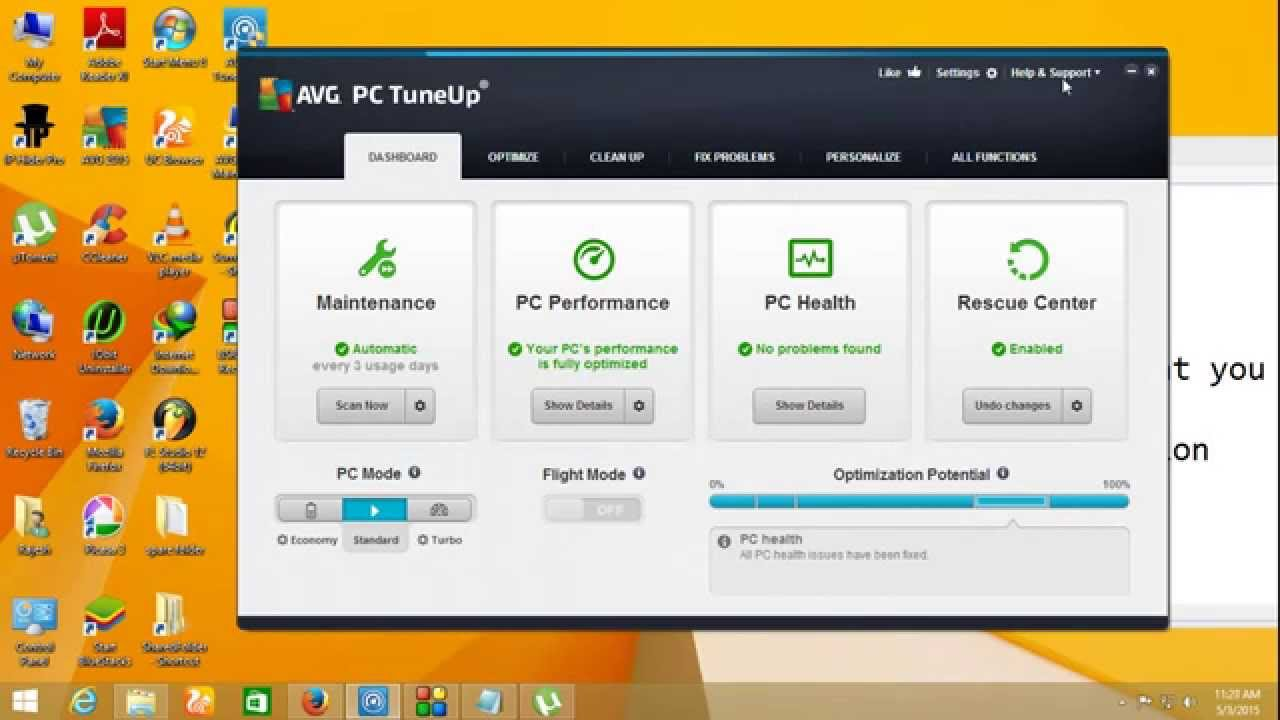 how to activate avg pc tuneup