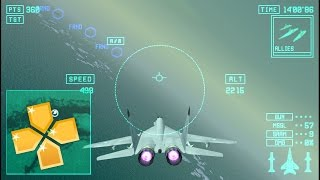Ace Combat X Skies of Deception PPSSPP Gameplay Full HD / 60FPS
