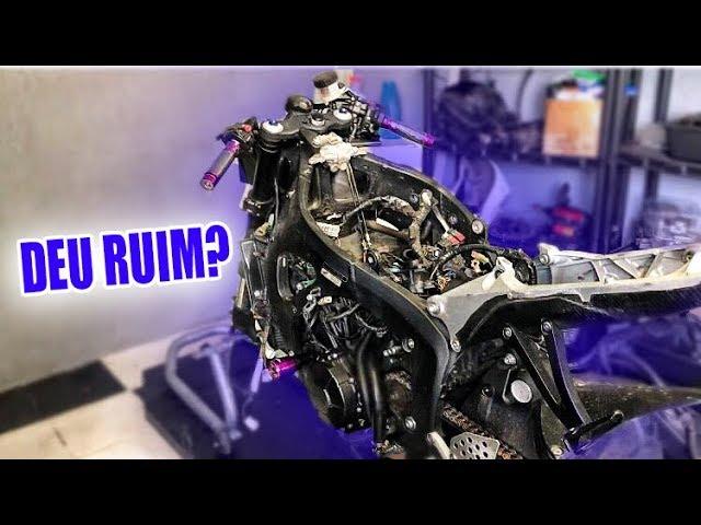 O QUE ACONTECEU COM MINHA MOTO ? - Thays Rx