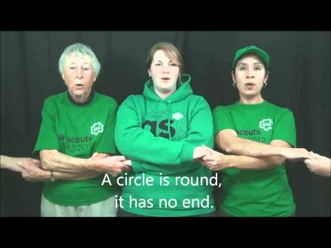 Girl Scout Song 'Make New Friends' in ASL from YouTube · Duration:  1 minutes 52 seconds