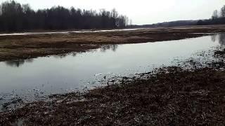 16апреля 2018.Исток Истринского водохранилища р.Чернушка...
