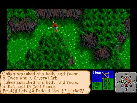 Amiga Longplay The Faery Tale Adventure