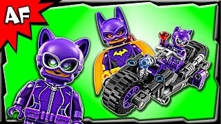 Lego Batman Movie CATWOMAN Catcycle Chase 70902 Speed Build