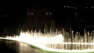 Dubai Fountain - Night