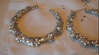 Step by Step Tutorial on Applying Crystals to Your Earrings