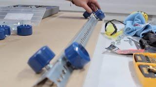 HOW TO BUILD A LARGE CAMERA SLIDER DOLLY PLATFORM [DIY TUTORIAL]