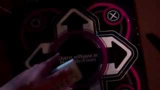 PlayStation 3 Dance Dance Revolution Dance Mat does not function on Nintendo Wii or PlayStation 2