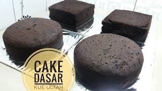 MEMBUAT CAKE DASAR KUE ULTAH SANGAT MUDAH | BASIC CAKE