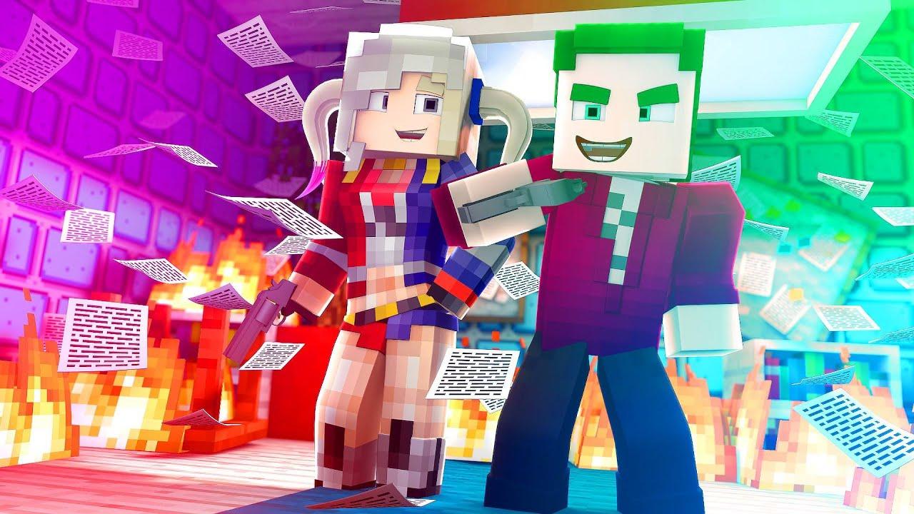 Fotos Do Coringa: Minecraft: ARLEQUINA Vs CORINGA (Salvação) #05
