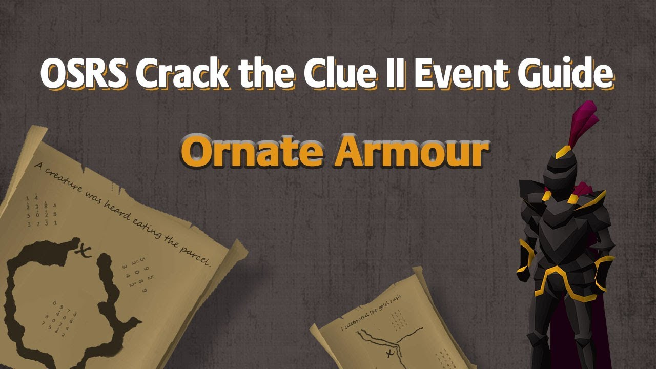 Crack the Week 4 & Final Clues for Ornate Armour in OSRS CTC2