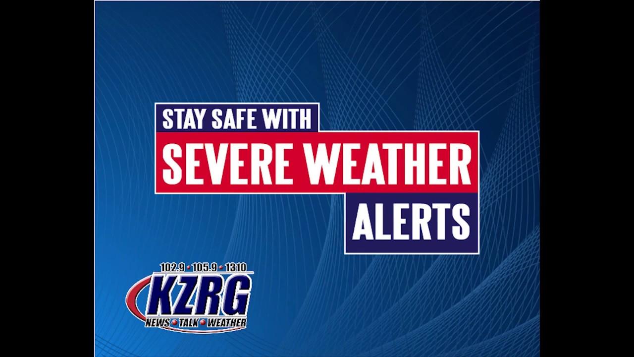 Severe Weather Alerts - Newstalk KZRG