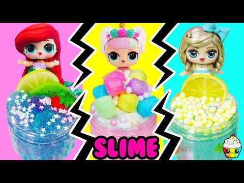 LOL Family Slime Shop Challenge Choose Your Own Ingredients