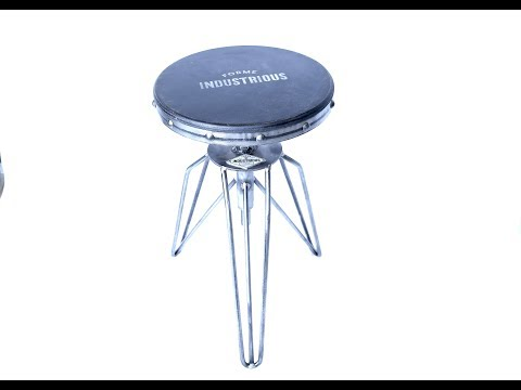 Industrial Shop Stool - Forme Industrious