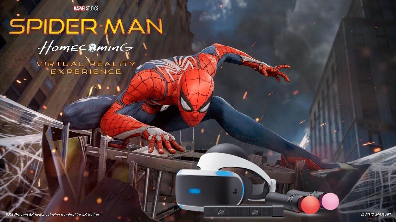 Spiderman Homecoming Vr  [psvr]  [fr] Youtube