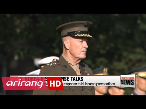 S. Korea, U.S. discuss missile defense, response to N. Korean provocations