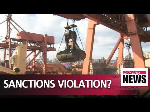 S. Korea probing inadvertent import of N. Korean coal