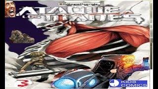 ¿Que Hubiese Pasado Si Ghost Rider llegaba  al mundo de shingeki no kyojin ? HISTORIA COMPLETA