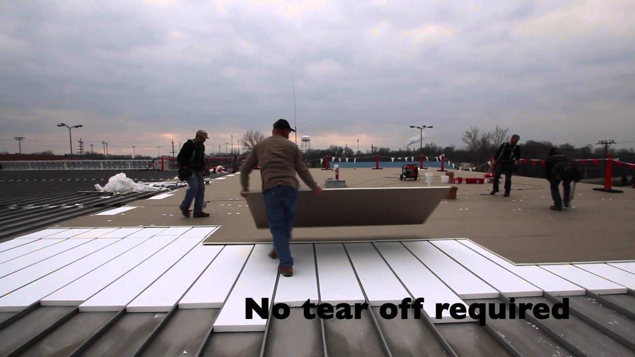Metal Roof Retrofit Youtube