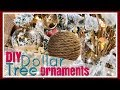 RUSTIC Winter WOODLAND Wonderland Decor | DIY Dollar Tree Ornaments | Day 16 ~ 25 Days of Christmas