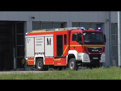 HLF 20 Flughafenfeuerwehr München FW Nord