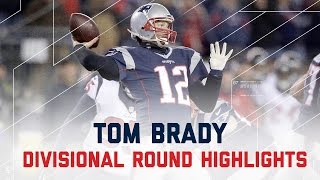 Tom Brady's Gritty 2 TD Night! | Texans vs. Patriots | NFL Divisional Player Highlights