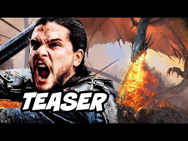 Game Of Thrones Prequel Teaser - House of The Dragon 2021 Breakdown