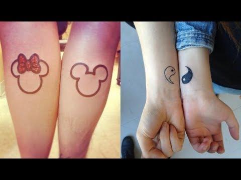 Tatuajes De Diseños Para Parejas Enamorados Y Novios Youtube