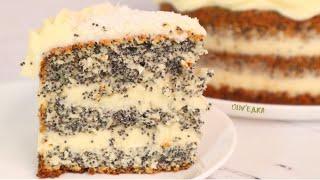 БЫСТРЫЙ Тортик НЕЖНЫЙ И НЕВЕСОМЫЙ Кокосово маковый торт Оливьедка