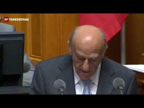 Hans-Rudolf Merz - Bündnerfleisch - Fleisch Lachanfall Bundesrat