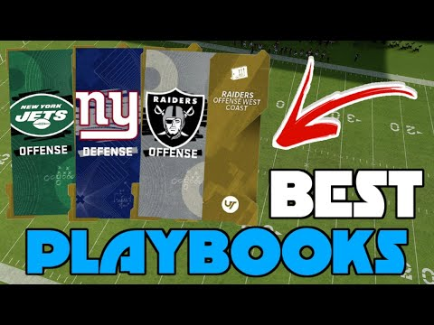The BEST Top 5 Playbooks To Win In Madden 21! *Offense and Defense*!
