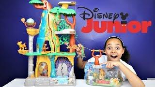 Disney Junior Lion Guard Training Lair Play Set - Surprise Toys For Kids Unboxing Review