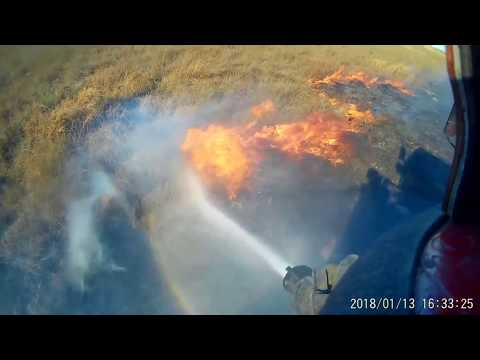 Brush Fire - Helmet Cam