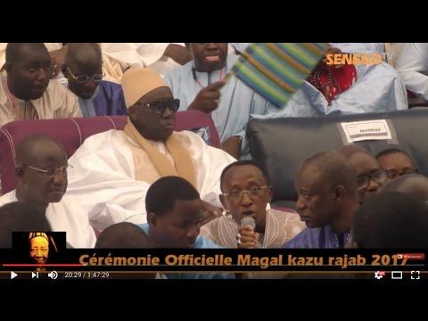 Revoir la Cérémonie Officielle Magal Kazu Rajab 2017