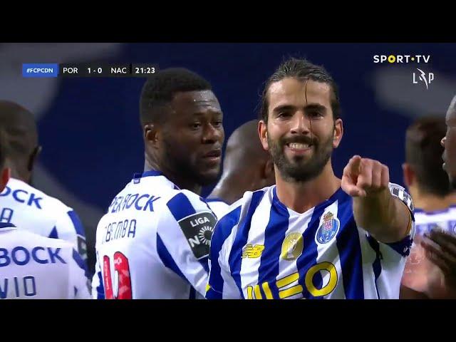 Goal | Golo Sérgio: FC Porto (1)-0 CD Nacional (Liga 20/21 #10)