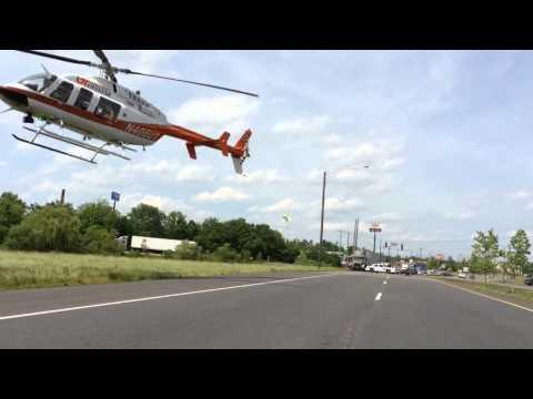 Crash at I-40 and Strawberry Plains Pike - YouTube