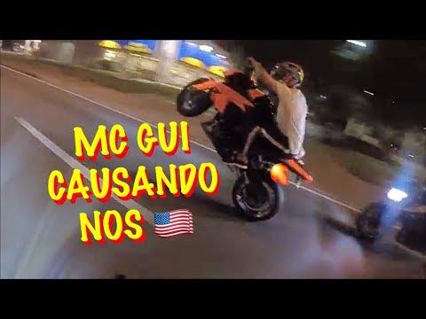 MC GUI NO GRAU DE Z1000 NOS EUA, CAUSANDO EM ORLANDO !